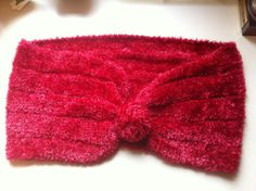 knitted lightweight woman's shoulder scarf
