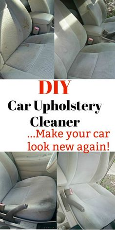 Hack dump cleaning cars car interiors and cars diy car upholstery cleaner make your interior look brand new solutioingenieria Image collections