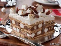 Smores Icebox Cake