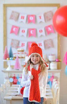 Party Reveal: Hot Cocoa Bar | Happy Wish Company