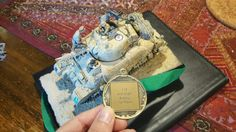 British Sherman, 1/35th Scale multimedia kit bash and resin parts. First place in Armour at recent modelling competition.