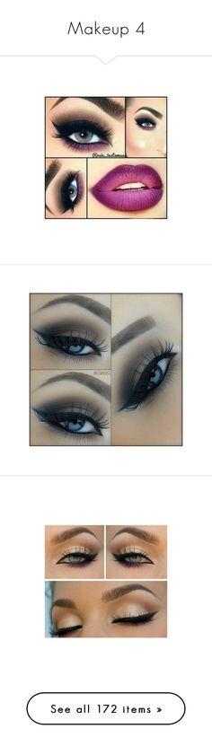 """Makeup 4"" by theonewithstarsinhereyes ❤ liked on Polyvore featuring beauty products, makeup, lip makeup, eyes, beauty, eye makeup, eyeliner, maquiagem, eyeshadow and lipstick"