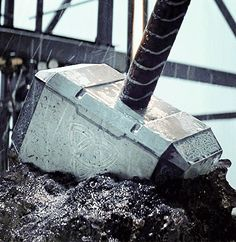 Whosoever holds this hammer... If he be worthy...
