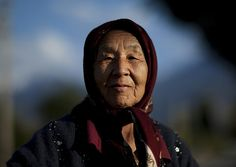 Old Woman With Headscarf In Kochkor, Kyrgyzstan by Eric Lafforgue, via Flickr