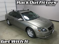 Rack Outfitters - Nissan Altima Sedan Thule Rapid Traverse SILVER AeroBlade Roof Rack '02-'12, $474.85 (http://www.rackoutfitters.com/nissan-altima-sedan-thule-rapid-traverse-silver-aeroblade-roof-rack-02-12/)