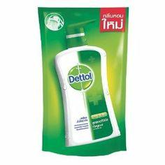Dettol Shower Gel Original Formula Pourch Package Size 220ml., Thailand by Dettol. $18.00