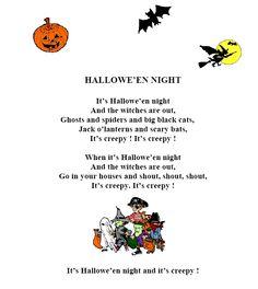 halloween poems halloween poem in 5me collge le racinay