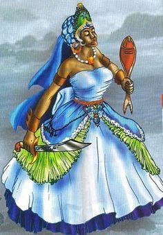 Items similar to Yemaya Assessu Reading, goddess yemaya, Yemaya tarot oracle reading on Etsy Yemaya Orisha, Orishas Yoruba, Still Picture, Mermaids And Mermen, Sacred Art, Gods And Goddesses, Deities, Black Art, Mythology
