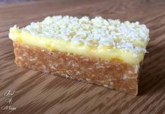 This No Bake slice has been my favourite since I was a little girl. I love the combination of the buttery zesty biscuit base and a sweet citrusy icing, it reall Lemon Desserts, No Bake Desserts, Dessert Recipes, Lemon Cakes, Bar Recipes, Yummy Recipes, Salad Recipes, Healthy Recipes, Cooking With Kids Easy