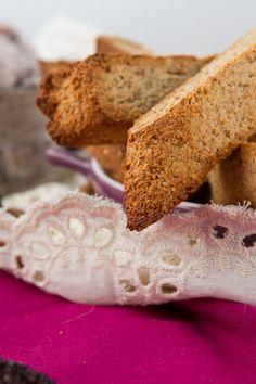 Sugar-free Banana Pecan Biscotti #glutenfree #healthybaking Healthful Pursuit   Healthful Pursuit