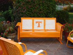 Tennessee Party ideas _ I REALLY want this! Tennessee Volunteers Football, Tennessee Football, Tennessee Titans, Tennessee Girls, East Tennessee, Tn Vols, Orange Country, Backyard Camping, University Of Tennessee