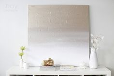 DIY Gold Ombre canvas for my new office! Living Room Canvas Art, Home Crafts, Diy Crafts, Holiday Photography, Diy Artwork, Diy Canvas Art, Gold Diy, Do It Yourself Crafts, Inspirational Wall Art