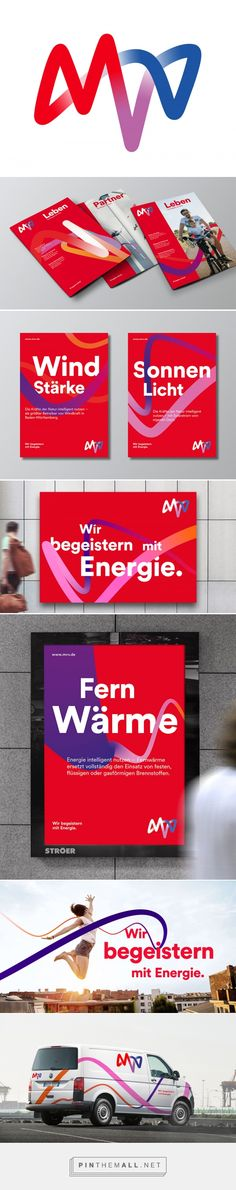 Brand New: New Logo and Identity for MVV by KMS TEAM... - a grouped images picture - Pin Them All