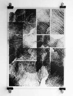 Pattern of Landscape Mises En Page Design Graphique, Art Graphique, Grafik Art, Bd Comics, Black And White Painting, Process Art, Portfolio, Art Plastique, Installation Art