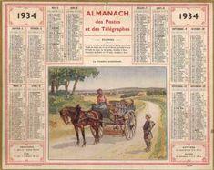 Almanach des postes et des télégraphes de 1934