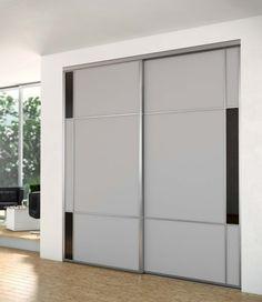 Porte de placard Esquisse - collection aluminium SOGAL TANGUY Matériaux