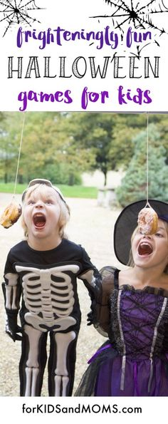 Halloween games for kids, 22+ fun kids games to play. Great for teachers or halloween party ideas! via @forKIDSandMOMS