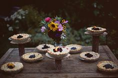 Wedding pie, instead of cake! Delicious! #wedding #pie