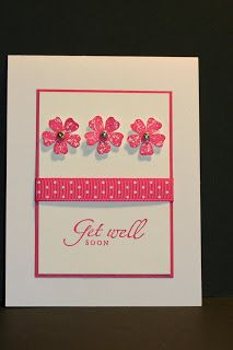 My Creative Corner!: Quick and Simple Get Well Card - Sincere Salutations & Vintage Vogue
