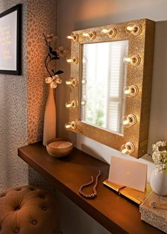 Make your #ownhome in to a #salon by using our #Hollywood #Mirrors as shown on #tv #Hollyoaks  reflectionsofme.co.uk