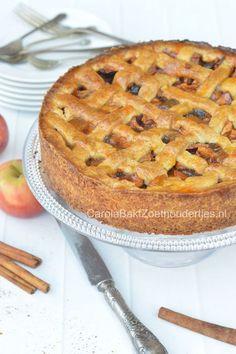 Oma's oud Hollandse appeltaart Margriet kookboek 1962