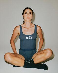 Alex Morgan Alex Morgan, American Athletes, Female Athletes, Kim Kardashian, Track Meet, Long Jumpers, Underwear Brands, Ralph Lauren, Olympic Team