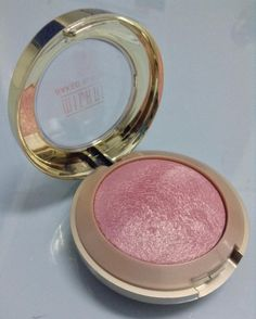 "Milani Baked Blush in Dolce Pink  8 Likes, 6 Comments - sarguss (@sortofswatch) on Instagram: ""I will be reviewing Milani's Baked Blush in Dolce Pink today. This is actually my first non-lippie…"""