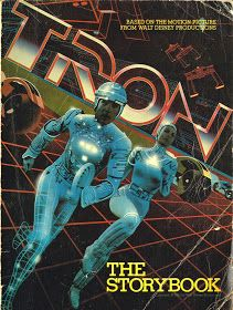 Tron the Storybook by Lawrence Weinberg. by FadoVintage on Etsy Cult Movies, Sci Fi Movies, Action Movies, Pulp Fiction, Science Fiction, Fiction Film, Tron Legacy, Sci Fi Books, Comic Books