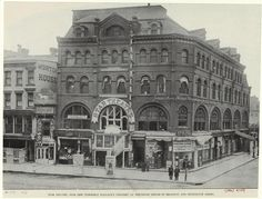 Broadway and E. Thirteenth Street.. Star Theatre.. formerly Wallack's Theatre