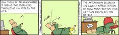 The Dilbert Strip for February 8, 1995