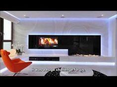 Zauberhafte LED-Lichteffekte in einer modernen Wohnung in Polen
