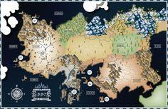 Map of Essos