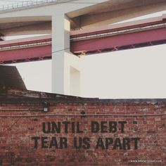 Thousands of people in the United States are currently in debt. Debt makes people lose a lot of money that they are already lacking. Those in debt are mostly the lower class citizens who are already struggling to survive and have a family.