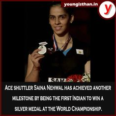 Congratulations Saina Nehwal! We Are Grateful To This Ace Shuttler For Bringing Glory And Accolades To Our Nation.