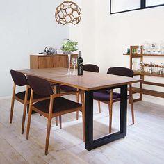 WILDWOOD DINING TABLE ワイルドウッド ダイニングテーブル [ ウォールナット ] - マスターウォールのテーブル通販 | リグナ東京