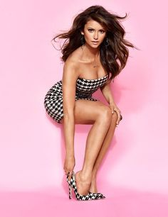 Nina Dobrev - the Cosmo pose.    She is beyond gorgeous