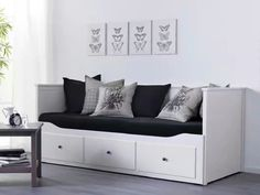 I can imagine this in my dressing room acting as both sitting area an still creating extra storage
