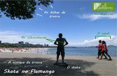 Skate no Flamengo.