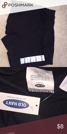NEVER WORN black athletic shorts NEVER WORN very comfy Old Navy Shorts