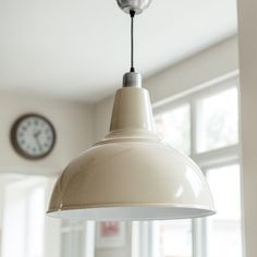 Our large kitchen pendant light in sea spray. A classically shaped, oversized light, the perfect choice for kitchens and kitchen islands. Complete with adjustable cable and ceiling rose. Large Pendant Lighting, Kitchen Pendant Lighting, Kitchen Pendants, Dining Room Lighting, Pendant Lamp, Light Pendant, Island Pendants, Ceiling Lights Uk, Kitchen Ceiling Lights