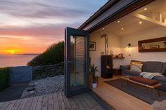 Whitsand Bay cliffhanger coastal self-catering beach hut, Cornwall Coastal Cottage, Coastal Style, Cornwall Beaches, Beach Properties, Beach Shack, The Great Outdoors, Architecture, Cornwall England, Yorkshire England