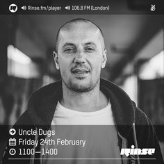 Rinse FM Podcast - Uncle Dugs - 24th February 2017 by Rinse FM on SoundCloud