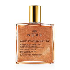 NUXE Huile Prodigieuse Or Multi-Usage Dry Oil - an heavenly scented dry oil which can be used on the skin and even the hair, for a beautiful shimmer - it really helps to accentuate a tan too! #feeluniquemagpies