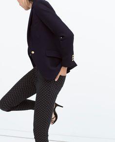 STRUCTURED BLAZER - Blazers - WOMAN | ZARA United States