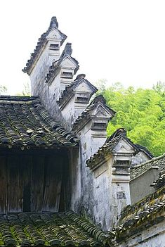 Traditional house Fenghua, Zhengjiang Province, China
