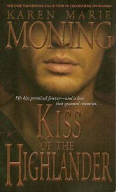 Kiss of the Highlander (The Highlander Series, Book 4) by Karen Marie Moning, http://www.amazon.com/dp/044023655X/ref=cm_sw_r_pi_dp_tWdOqb030Z5G4