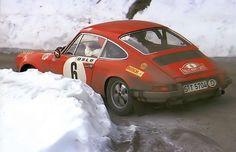 Bjorn Waldergaard and Porsche 911 Rallye de Monte-Carlo 1970 Porsche 912, Porsche Motorsport, Porsche Cars, Classic Sports Cars, Classic Cars, Porsche Classic, Sport Cars, Race Cars, Rallye Raid