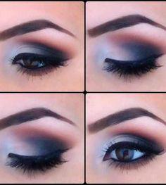 Perfect Smoky Eye Make-up Kiss Makeup, Love Makeup, Makeup Tips, Hair Makeup, Sexy Makeup, Makeup Blog, Gorgeous Makeup, Makeup Ideas, All Things Beauty
