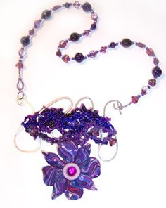 The Beading Gem's Journal: Use Armature Wire for Necklaces