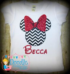 Hey, I found this really awesome Etsy listing at https://www.etsy.com/listing/178814194/chevron-minnie-mouse-shirt-personalized